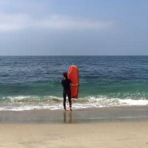 ラグナビーチで初回断念・・・