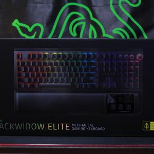 やっぱりRazerBlackWidowが好き♪キーボードやっと買い替えました!