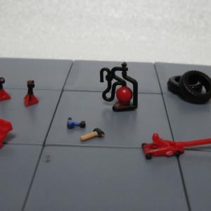 トイズキャビン「1/64ガレージツールコレクション」ツールセットC