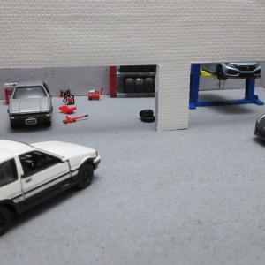 新しいガレージをつくりました。