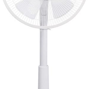 【Amazon.co.jp限定】山善 扇風機 30cm リビング扇 押しボタンスイッチ 風量調節3段階 タイマー機能付き 換気 ホワイト AMT-KC30(W)