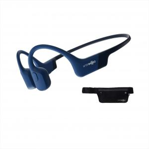 AfterShokz Aeropex 骨伝導ワイヤレスヘッドホン 防水bluetooth5.0 ブルーエクリプス