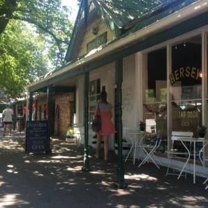 Hahndorf -German style small town in Adelaide Hills-