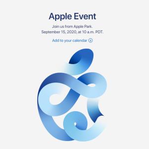 iPhone12 / AppleWatch6 / iPadAir / Apple Glass で確定か – アップル、9月15日にイベント開催