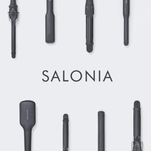 【サロニア】24mmストレートアイロンで抜け感のあるシースルーな前髪を作る
