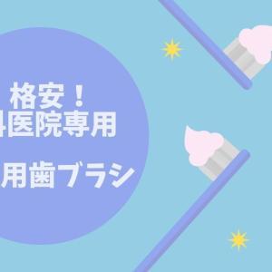 【歯科医院専用】すぐダメになる子供用歯ブラシは安くお得にGET!