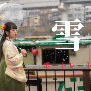 【作例】X-T3で撮る浅草袴ポートレート(のーぷらん。おがたゆき)
