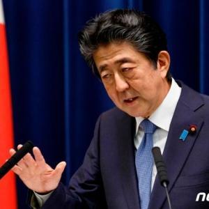 韓国・反応 日本安倍支持率、側近'夫婦議員逮捕'にも36%で9%↑