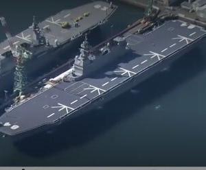 韓国・反応 日本、護衛艦「かが」も来年に空母に改造着手...F-35B搭載