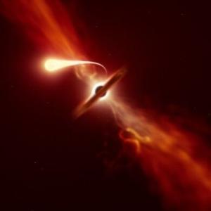 韓国・反応 ブラックホールに吸い込まれた星、麺のように伸びて秒速1万kmで散らばった