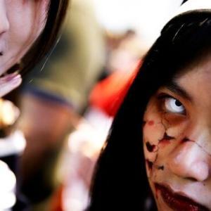 韓国・反応 ハロウィンの時めちゃくちゃにになる日本渋谷...今年は11億かけて幽霊防ぐ