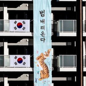 韓国・反応 花を見てもケチをつける日本...大韓体育会「虎降りてくる」一点説明