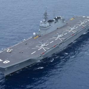 韓国・反応 日本の「漂う軍事基地」、空母2隻が太平洋をかき回す