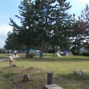 境港公共マリーナキャンプ場  @鳥取県境港市