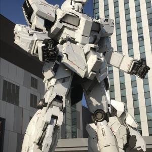 ガンダムベース東京で・・自信喪失・・