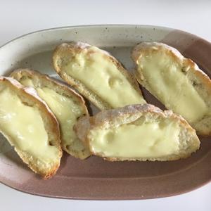 自然発酵のフランスパンとカレー
