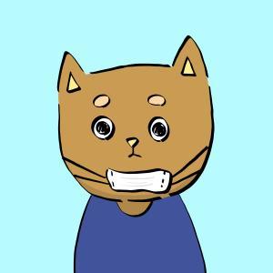 マスクのつけ方を間違えた犬のイラストその3【フリー素材】【商用利用可】【あごマスク】【マスク】【予防】【間違い】