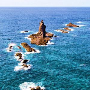 2020/05/25/01 岩礁の風景-神威岬-