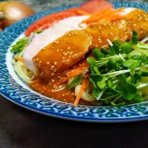マルちゃん正麺で「棒棒鶏麺」のレシピ【大会入賞レシピ】