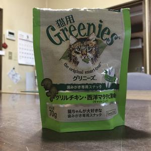 猫用グリニーズ歯磨き効果あり?!しかもマタタビ?