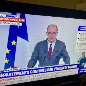 パリ含むフランス一部で4週間のロックダウンへ