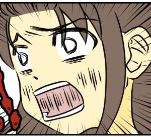 恐怖をもたらす赤茶色の物体【web漫画】