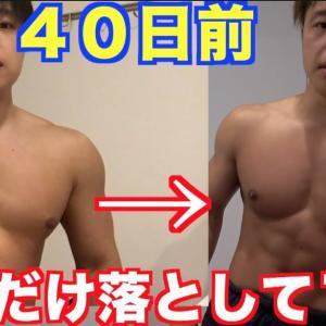 【Youtube紹介】1ヶ月で7kg脂肪だけを落とす1日の食事の仕方と運動内容がこれ!!