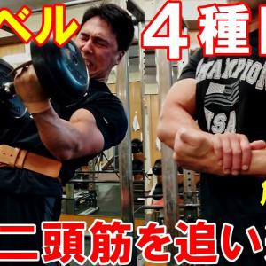 【Youtube紹介】【筋トレ】ダンベル4種目をチーティングで追い込む上腕二頭筋のトレーニング【解説付】
