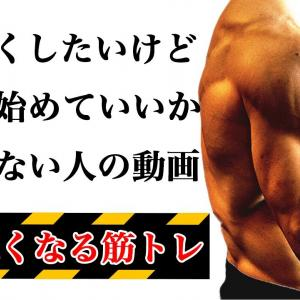 【Youtube紹介】初めてでも絶対に腕が太くなる筋トレメニュー【ダンベルだけ】
