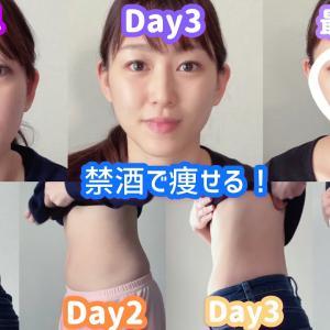 【Youtube紹介】酒好き女が5日間禁酒をして、さらに痩せてる人の食事を真似したら別人になった