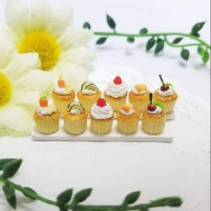 過去作~こんがりフルーツカップケーキ~
