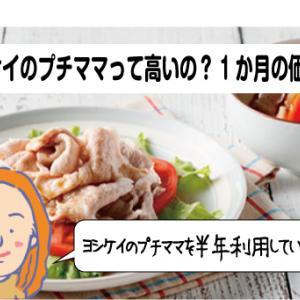 ヨシケイのプチママの料金は?埼玉在住の30代主婦が6か月利用した口コミ