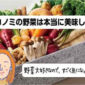 ココノミの野菜は美味しいの?!味から選べるって口コミは本当?