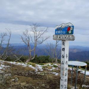 日本 能郷白山登山