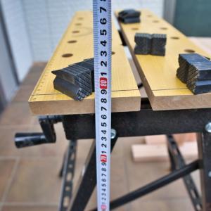 DIY作業台としての馬(ソーホース)を作製