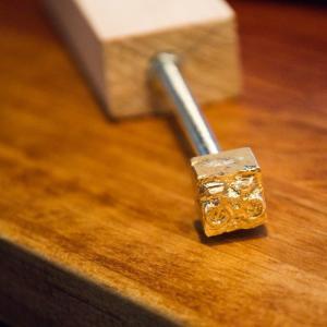 黄銅(真鍮)で焼印のDIY