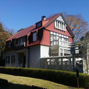 江戸東京たてもの園にある豪邸に住みたい赤い彗星のシゲ