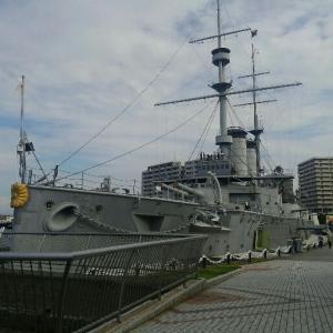 横須賀の三笠公園にある「記念艦みかさ」の内部見学で日本海海戦に思いを馳せて