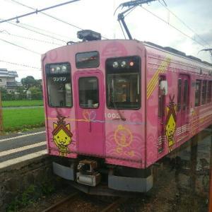 一畑電車(バタデン)はスイッチバックしながらオヤジ達の夢を乗せて