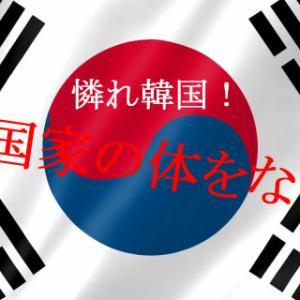 韓国、未だ国家足りえず