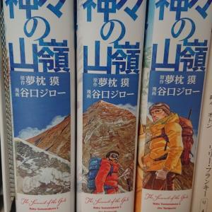 【すごい漫画】『神々の山嶺』を読んで。漫画すごいね・・・