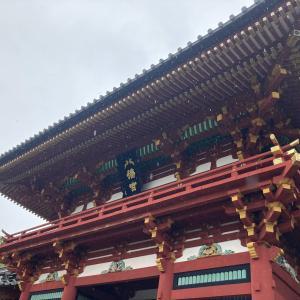 【初めての鎌倉】横浜から雨の鎌倉へ、鶴岡八幡宮へ行ってみました