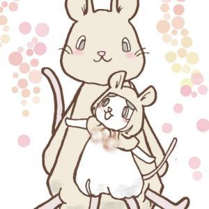 パンダマウス頭巾とラットちゃん