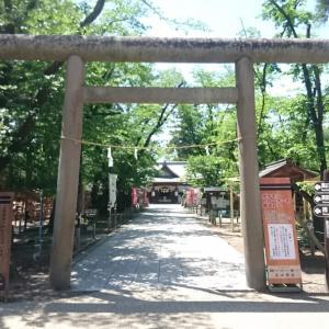 上田城跡公園内真田神社