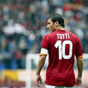 「ローマ人として生まれ、ローマ人として死ぬ」フランチェスコ・トッティ