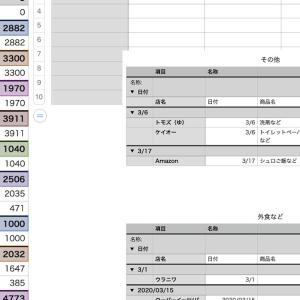4月の食費・雑費・外食費がいつもより1万円オーバー!