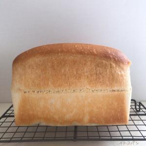 パウンド型で食パン