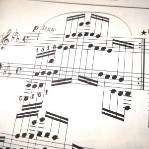 大人のやり直しピアノ、ブラームスの練習曲に手を出してみる。