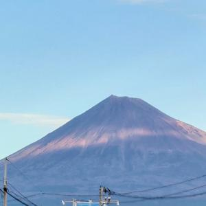 今日の富士山とサラテン