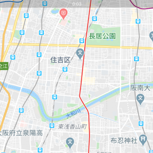 阪神高速6号大和川線がgoogle mapに登場!!それとカーナビについて。